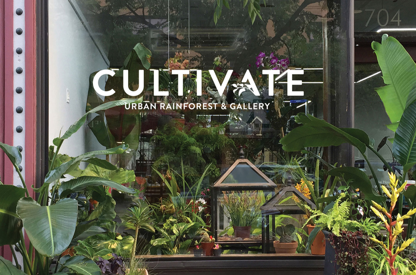 Photo of the Cultivate storefront
